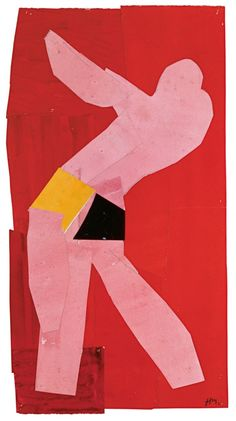 Henri Matisse - Small Dancer on a Red Background, 1937