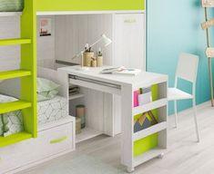 Girl Bedroom Designs, Room Ideas Bedroom, Small Room Bedroom, Home Decor Bedroom, Kids Bedroom, Smart Furniture, Space Saving Furniture, Home Furniture, Furniture Design
