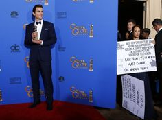 Matt Bomer Wins the Golden Globe for Best Supporting Actor in a Series, Mini-Series or TV Movie