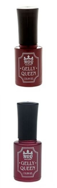 Color Gel [GELLY QUEEN] 11Street #NailPolish #PoshNails #MaroonNails