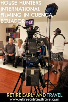 HOUSE HUNTERS INTERNATIONAL FILMING IN CUENCA - https://www.retireearlyandtravel.com/house-hunters-international-filming/