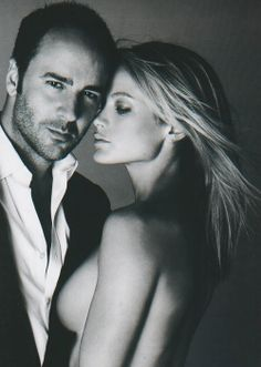 Tom Ford, Carolyn Murphy. Find Inspirations at Monica Hahn Photography