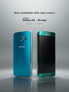 Samsung Rolls Out New Galaxy Colors BY STEPHANIE MLOT The next-gen flagship smartphones now come in Blue Topaz and Green Emerald Edge). Samsung Galaxy S6, Smartwatch, Iphone, Latest Smartphones, Cheap Smartphones, Samsung Mobile, Electronic Devices, Technology Gadgets, Tech Gadgets