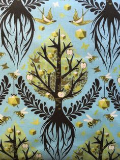 Tree of Life in Pool from Birds and Bees by by TheTrendyLittleGeek