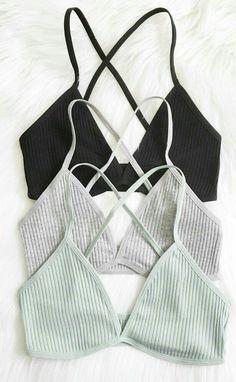 b11fb5588ac1d5 a grey and black knit bra to buy for less than 5 dollars   lingerieunder5dollarsforwomen Bralettes