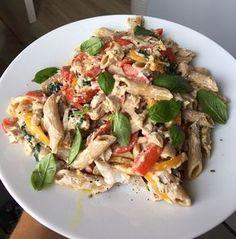 Diet Recipes, Snack Recipes, Healthy Recipes, Snacks, Polish Recipes, Italian Recipes, Food And Drink, Yummy Food, Dinner