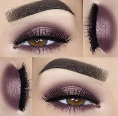 Discover these brown eye makeup Image# 2202 Entdecken Sie dieses braune Augen Make-up Bild # 2202 Natural Eye Makeup, Blue Eye Makeup, Fall Makeup, Makeup For Brown Eyes, Skin Makeup, Eyeshadow Makeup, Eyeliner, Plum Makeup, Plum Eyeshadow
