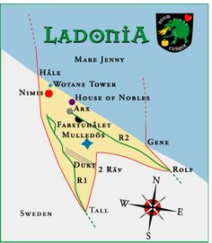 Ladonia : a small nation founded in 1996 has some strange associations! #strangestories #amazingfacts #RandomBizarreFacts #HistoricalMysteries