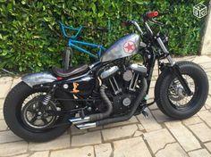 Harley Davidson News – Harley Davidson Bike Pics Hd Sportster, Custom Sportster, Harley Bobber, Custom Harleys, Harley Sportster 1200, Custom Choppers, Custom Bikes, Motos Harley Davidson, Custom Motorcycles