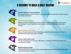 Daily routine would be improved just follow these steps