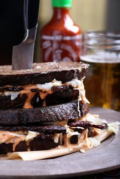 Vegan Reuben Sandwich by Jeff and Erin's pics, via Flickr