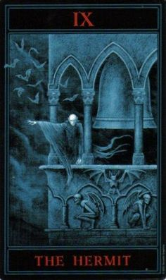 The Gothic Tarot: The Hermit
