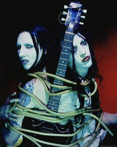 Marilyn and Twiggy Ramirez