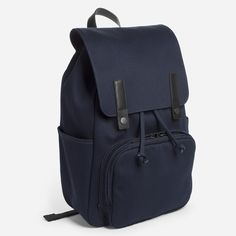 A dependable companion for all of your journeys. It features a padded interior laptop compartment, YKK zippers, and two side slip pockets for easy access to a water bottle, sunglasses, or other on-the-go items.