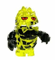 "Rock Monster Combustix (Yellow w/ Black Arms)- LEGO Power Miners Minifigure by LEGO. $15.75. Stands 1.5"" tall!. Brand New!. Discontinued figures, Has room to store 1 crystal or other small accessoy!"