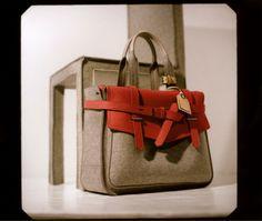 Reed Krakoff felt Boxer bag