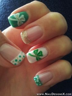 St,Patrick's Day nail design » Nail Designs & Nail Art