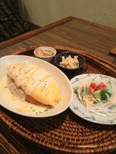 名古屋市南区 CAFE BAGUS/カフェ バグース  BAGUS(バグース)オムライスランチ!
