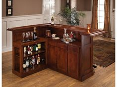 How to Come Up with Your Own Living Room Mini Bar Furniture Design : Home Mini Bar