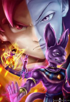 Dragon Ball Z, Battle of Gods by Fluorescentteddy.deviantart.com on @DeviantArt
