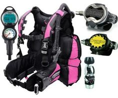Amazon.com: Cressi Air Travel BC Scuba Gear Dive Package Equipment: Sports & Outdoors