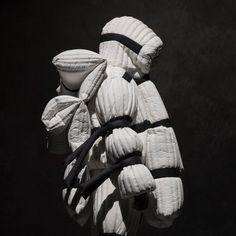 Craig Green collection for Moncler Dope Fashion, Grey Fashion, Fashion Brand, Runway Fashion, Fernanda Yamamoto, Design Simples, Craig Green, Fashion Design Portfolio, Textiles