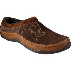 $110.00 The North Face - Abby Clog (Women's) - Espresso Brown/Cameo Brown