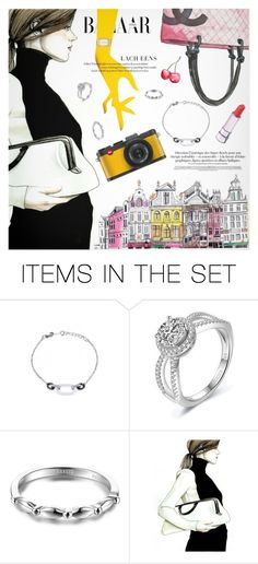 """""""Harper's Bazaar"""" by metisu-fashion ❤ liked on Polyvore featuring art and metisu"""