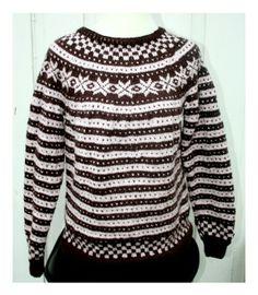 Fanagenser ,dame M-L. Norwegian Knitting, Folk Fashion, Fair Isle Knitting, Knitting Needles, Folklore, Knits, Christmas Sweaters, Knitting Patterns, Knit Crochet