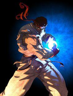 Ryu Collab by sykosan on DeviantArt