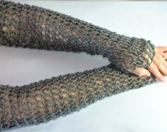 Crocheted Chainmail Idea  (No Pattern)