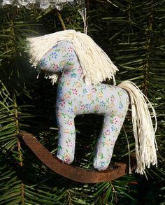 DIY Christmas Rocking Horse Ornaments, 2013 Handmade Rocking Horse For Christmas Tree, Cute Christmas Ornaments