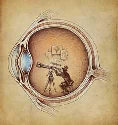 Extraordinary Observer by Enkel Dika// We are creation exploring itself in a time space reality.