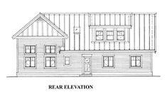 4 Car Garage Apartment Plan Number 76029 with 1 Bed, 3 Bath, RV Storage