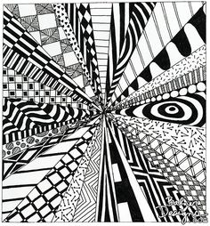 Balzer Designs - INSANE DOODLES FROM MY PAST - When I first moved to NYC and had the urge to create, I didn't have a lot of supplies or space.  But I did have a notebook, a pen, and some colored pencils.  I have notebooks full of crazy insane doodles like these ones,,,
