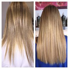 Great Lengths extensions done by Carla Smith!