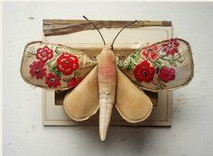 Butterfly -good brooch idea