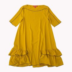Shop the yellow / orange ruffle dress and explore the Tommy Hilfiger dresses collection for women. Free returns & free delivery over €100. 8719108697518