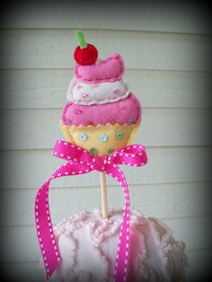 Happy Birthday Cupcake Toppers and Party Favors for by JeanKnee, $12.00