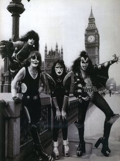 kiss 1970s | My Vintage London - Kiss in London, 1970s