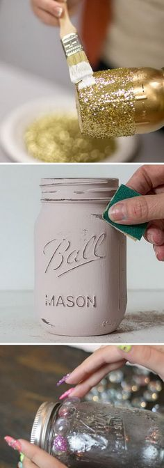 Awesome DIY Projects Using Mason Jars