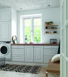 Alt indenfor køkken, bad og garderobe i højeste kvalitet Laundry, Kitchen Cabinets, Home Appliances, Storage, Furniture, Home Decor, Interior, Instagram, Ideas
