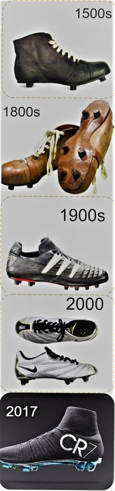 sale retailer 32fd0 aa427 Evolution of Soccer Cleats boots