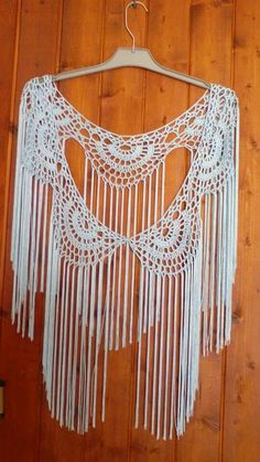 Crochet Blouse, Crochet Poncho, Crochet Lace, Free Crochet, Flamenco Costume, Weaving Art, Crochet Accessories, Boho Outfits, Crochet Clothes