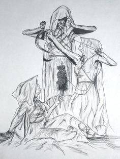 The Moirae by corrigan26.deviantart.com