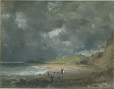 Weymouth Bay, John Constable, 1816