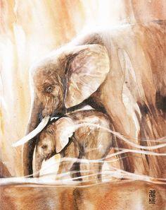 L'Esprit des Animaux à l'Aquarelle (30)
