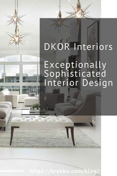 DKOR Interiors is one of the top residential interior design firms from South Florida with projects locally and worldwide. They are a team of professional, energetic individuals with talented designers and experienced managers available to guide their clients through the flawless and timely execution of any residential design project.