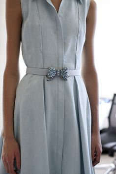 Blue Bow Belt Buckle...ZsaZsa Bellagio