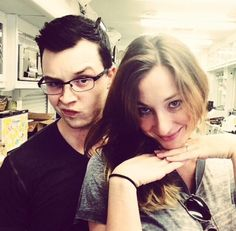 Noel Fisher & Isidora Goreshter